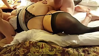 Gang Bang for BBW Wife at Motel Part 2