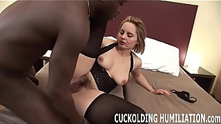 I want you to see my choking on a really big cock