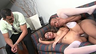 Cuckold Husband Watches Wife Take BBC
