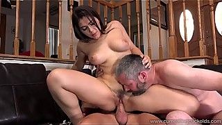 Cum Eating Cuckolds - Valentina Nappi and her cuckold in a &quot_threesome&quot_