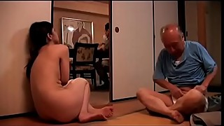 Japanese wife cuckold in front of her blind husband (Full: bit.ly/2PQv2fL)