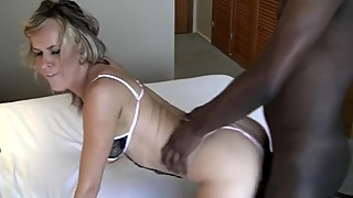 Hot wife in hotel with BBC and hubby