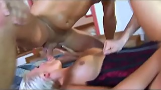 Anal DP Blonde Loves The Challenge