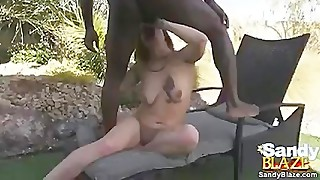 Wife gets interracial creampie