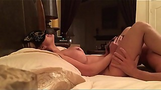 Big-tit HouseWife Sucks and fucks young boy