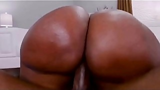 Big ass ebony fuck by big dick