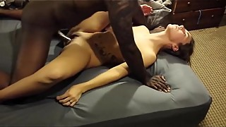 Trixxxcams.com - Cuckold camgirl gets fucked by bbc on cam