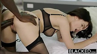 Young British Wife Loves Big Black Cock.