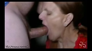 The Arizona HotWife Gangbang at the Erotic Emporium pt20 Gagging and Facial