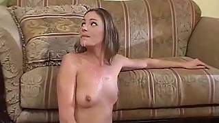 Wife get fucked in front of her husband