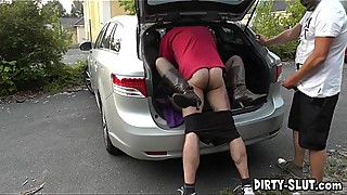 The dogging escapades of naughty slutwife Nicole