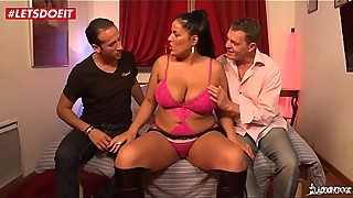LETSDOEIT - French BBW WiFe Shared By Husband with His Boss