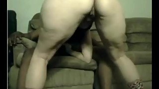 ebony threesome wife and her gal pal
