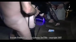 The Arizona HotWife Theater Gangbang at the Erotic Emporium Theater pt 2