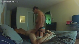 PT. 1-Hot Curvy Wife bends husband over to fuck his ass with new BBC