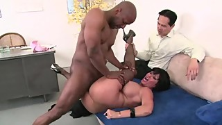 Big Tit Wife Shay Fucks BBC In Front Of Cuckold Husband