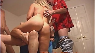 Taboo MILF eats her MOM out and Dad HELPS