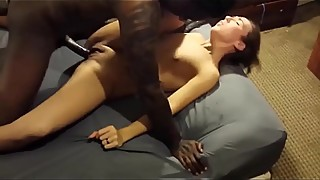Cute wife ecstatic with first BBC
