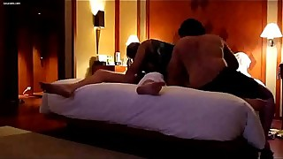 Desi wife threesome fuck in hotelroom