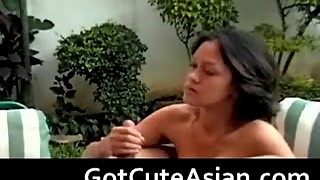 Asian amateur wife with big