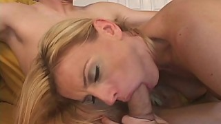 Hot MILF Bangs Young Stud