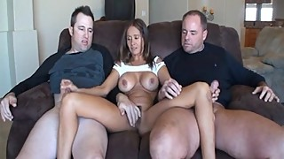 US Mature Babe With Two Cocks!
