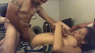 Three some with wife