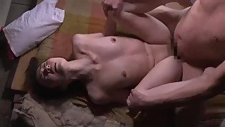 Japanese housewife fuck by Father in Law 2018