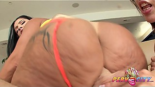 PervCity Kelly Divine and Monica Santiago Anal Threesome