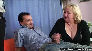 Double fun for huge grandma