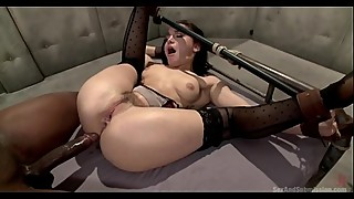 White girl Gabriella Paltrova big ass booty abuse by horny black BBC (Monster cock big cock) Follow me on instagram for more