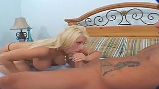 CUCKOLD HUSBAND WATCHES BLONDE WIFE TAKE BIG COCK