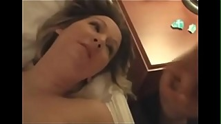 Old Men Taking Turns to Fuck a Hot Pregnant Wife While Cuckold Films