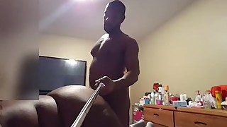 Wife's best friend came back for another 3some Pt 1 (selfie stick)