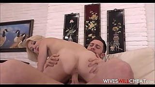 Horny Cheating Wife Laura Bentley Fucked By Roommate While Husband Watches On Security Cam
