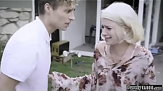Manipulative stepmom fuck both troubled stepson and his wife