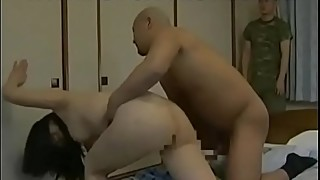 Japanese wife roughly fucked