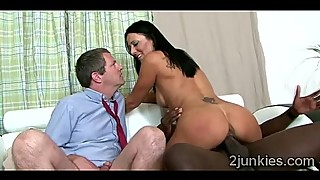Big stacked MILF rides black thug in front of her perv husbauckold-9184 01 big-1