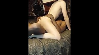 Wife Sucks One Big Black Cock from - spicygirlcam.com