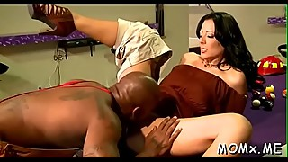 Blond milf black one-eyed monster fun